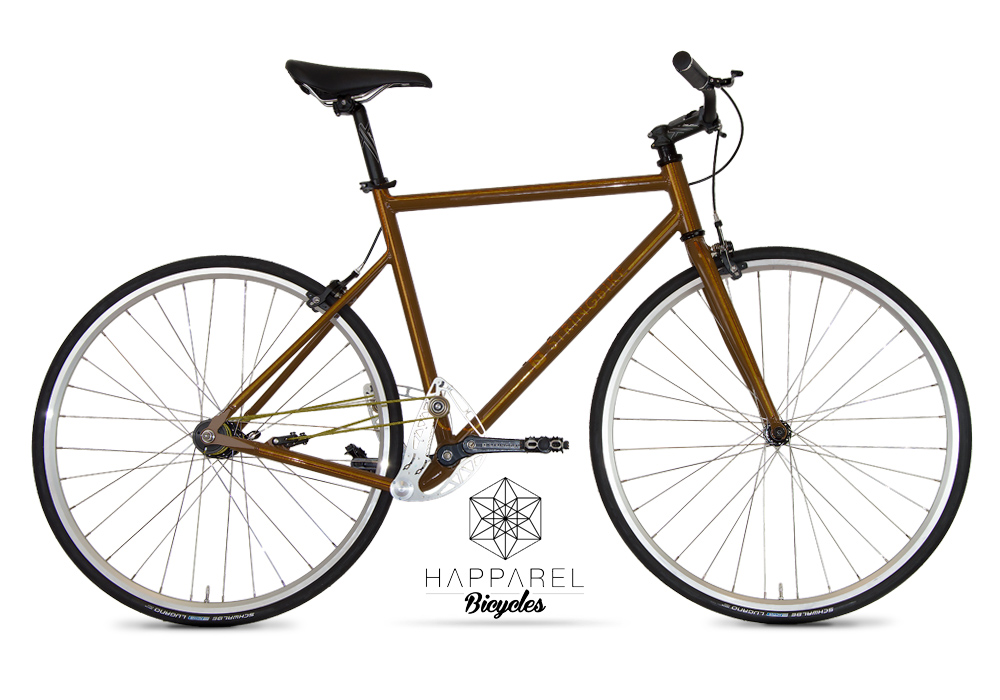Stringbike | D signers Happarel | Unisex Coffee - daytime view